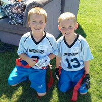 Upward Flag Football Friends