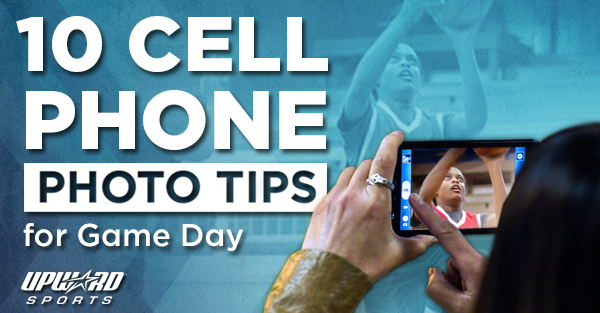 Learn more about cell phone photography tips for game day.