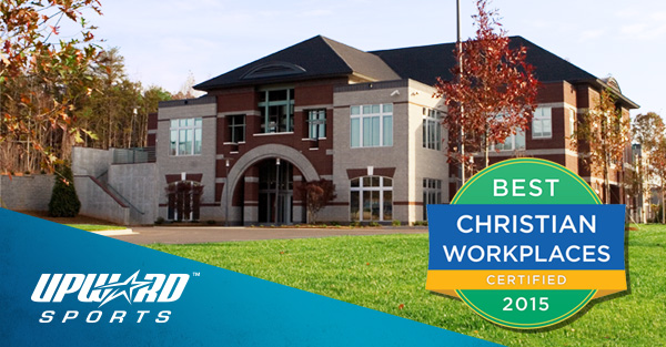Upward Sports Named One of the Best Christian Workplaces
