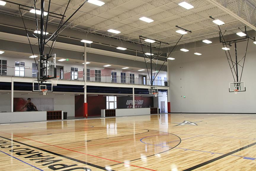 The Upward Star Center Basketball Courts