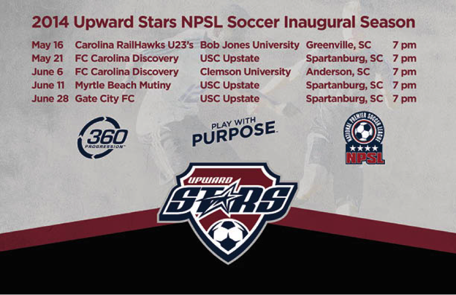Upward Stars NPSL Schedule
