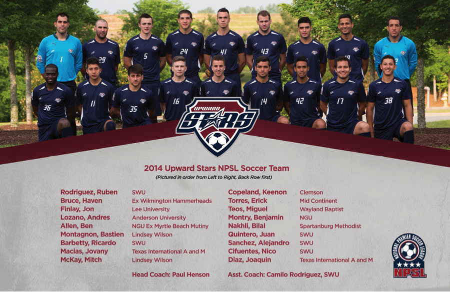 Upward Stars NPSL Team Photo