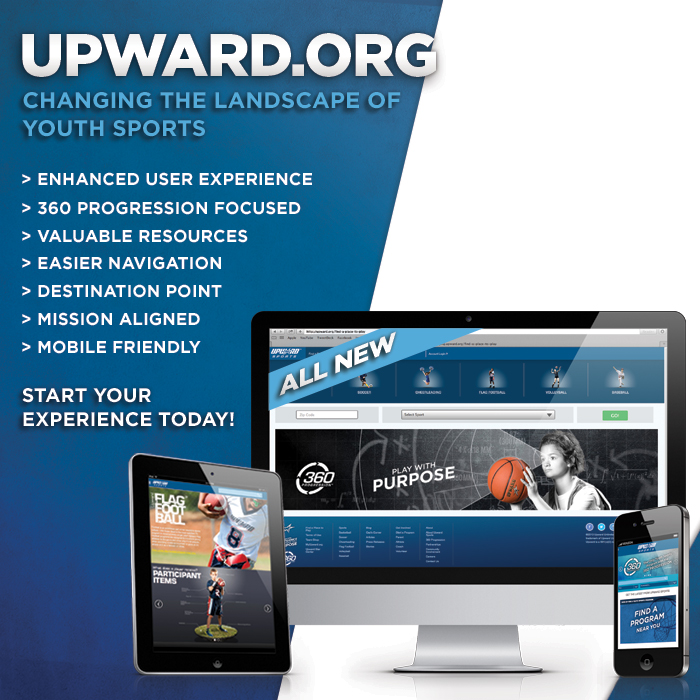 Upward Sports Launches Redesigned Site